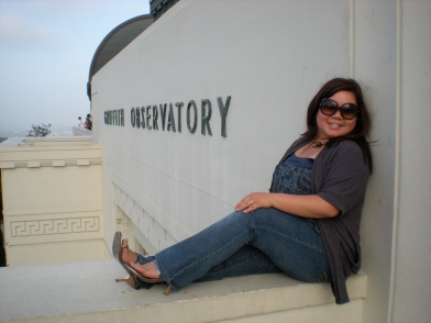 My first time @ the Griffith Observatory