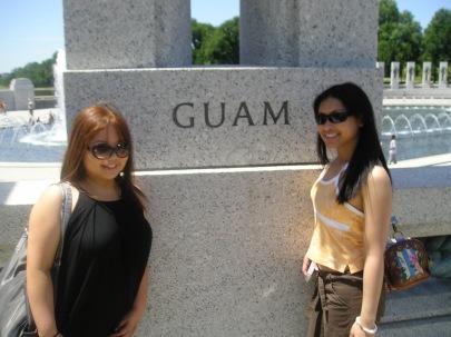 FYI: Guam is a US territory