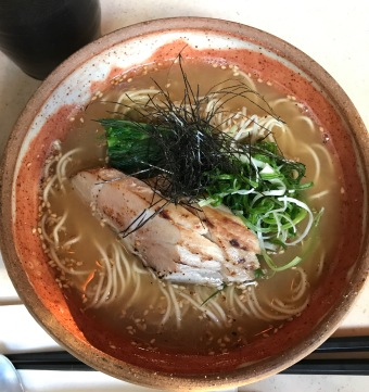 Tuna Belly in my Ramen